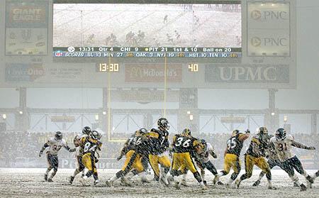 4th Q, 13:38 left: Steelers 21, Bears 9